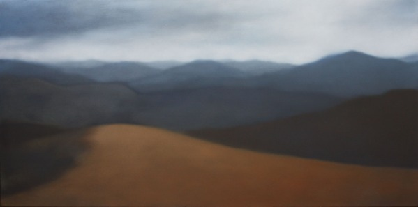 """Mountain Vista"", 24""x48"", $5,000."