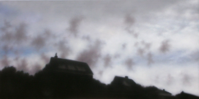 """Spinning Clouds, 20""""x40"""",  $3.600."""