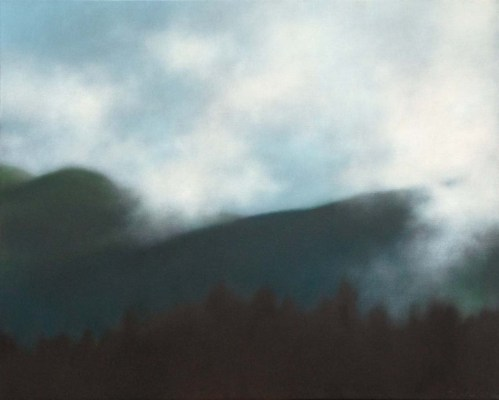"""Mountain Sky with Mists"", 24""x30""."