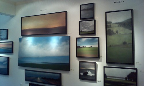 A section of my show at Louisa Gould Gallery.