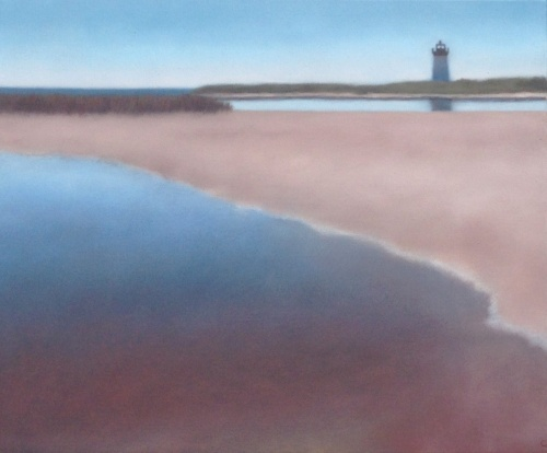 """""""Longpoint with Tidal Pool"""", 20""""X24"""". (sold)"""