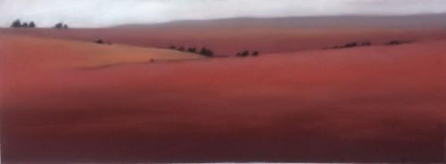 Red Field/White Sky
