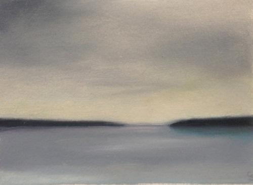 """Study/Grey Dawn, 5""""x7""""."""