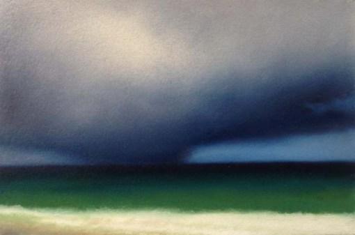 "Study/It Looks Like Rain, 6""x9""."