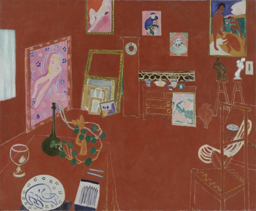 Matisse, The Red Studio, 1911.